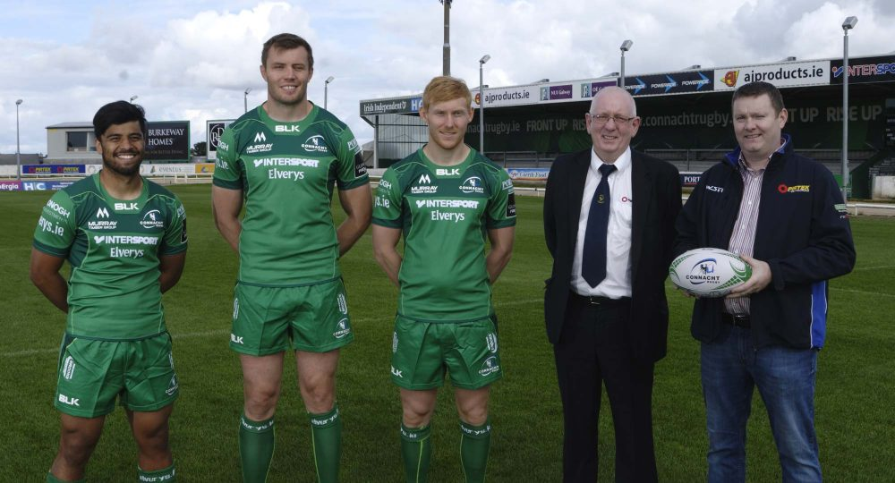Connacht Rugby | Connacht Rugby And Blk Sport Launch New Home Jersey