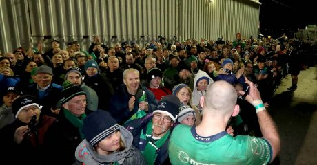 Less than 50 Main Terrace tickets left for Connacht v Munster