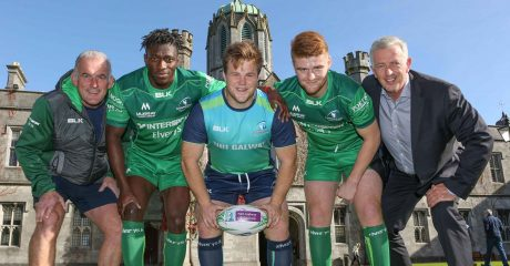 NUI Galway and Connacht Rugby Extend Partnership to 2019