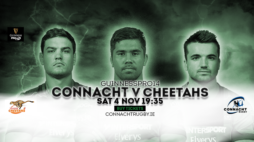 Connacht v Cheetahs