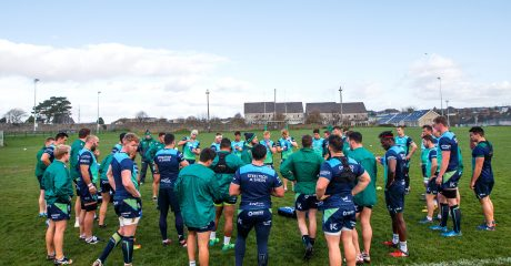 Squad Update ahead of Connacht V Cheetahs