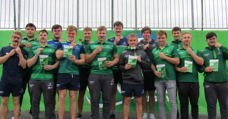 Academy players taking on Movember challenge in aid of Hand in Hand