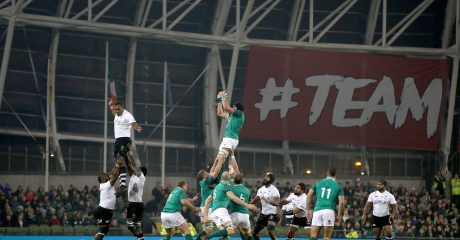 Gallery: Ireland battle to victory over Fiji