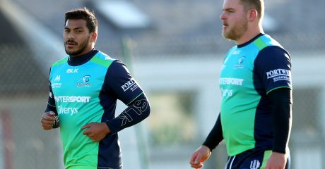 Pita Ahki named in starting lineup for clash with Zebre