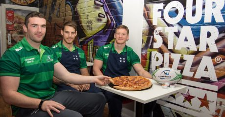 Connacht Rugby announce Four Star Pizza as an official partner