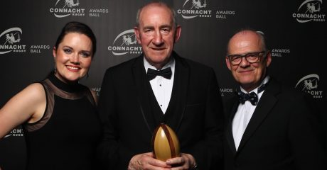 Leo Galvin honoured with Lifetime Contribution to Rugby award