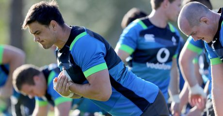 PICS: Connacht trio train with Ireland squad Down Under