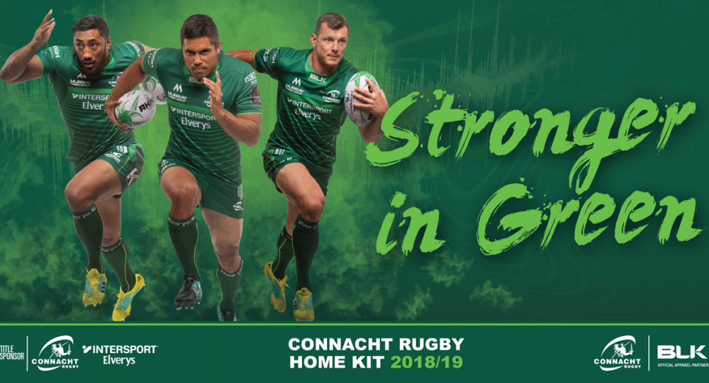 9b720ca7e Connacht Rugby in partnership with BLK Sport