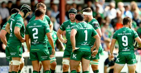 Connacht Squad Update: 23rd August 2018