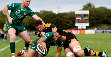 Connacht starting team named for Bristol Bears friendly