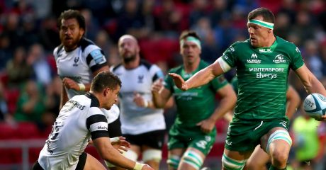 Copeland set for debut as Connacht take on the Scarlets in the Sportsground
