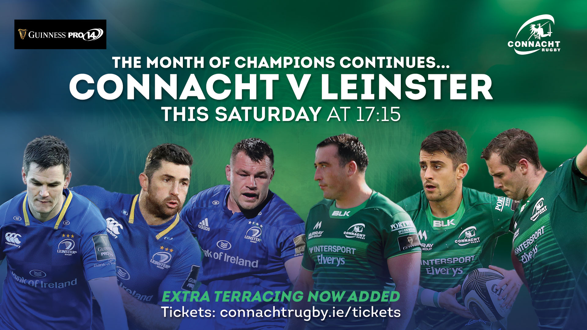 Connacht v Leinster