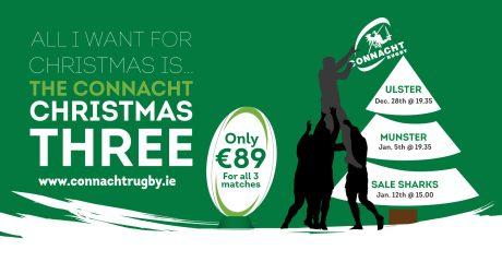 The Connacht Christmas Three