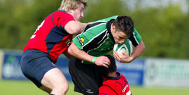 Connacht U20's name team to play Munster