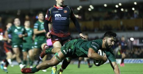 Connacht ease to bonus point victory over Dragons