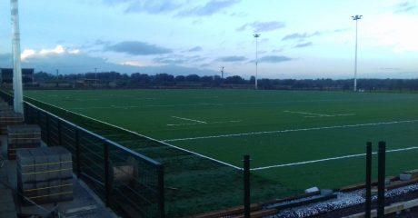 PIC: New 3G pitch at Creggs RFC begins to take shape