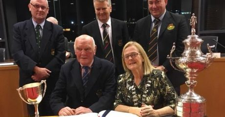 Sligo RFC honoured with mayoral reception after successful 2018