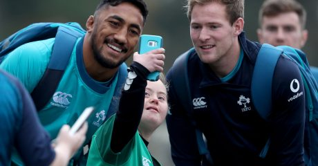 Kieran Marmion and Bundee Aki selected for All Blacks clash