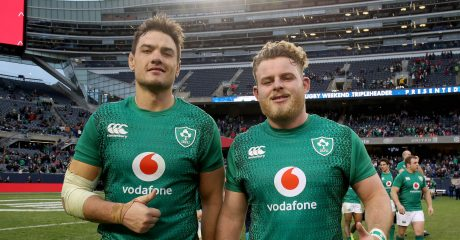 Bealham and Roux named in Ireland matchday squad for USA international