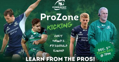 Registration now open for ProZone: Kicking event in Tuam