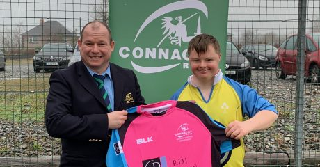 Delight for latest Connacht referee as he is named honorary member of ARCB