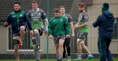 GALLERY: Connacht prepare for French encounter in Challenge Cup