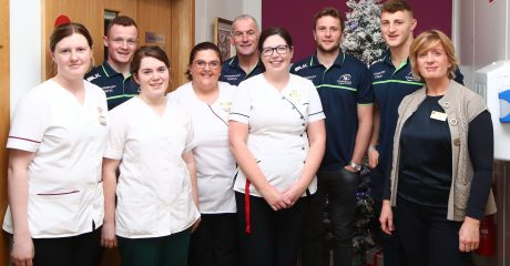 Connacht Rugby launch official partnership with Galway Hospice