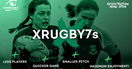 Introducing . . . The Connacht Women XRugby7s