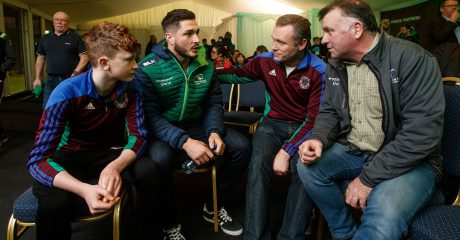 Launch takes place of Connacht Player Ambassador Programme