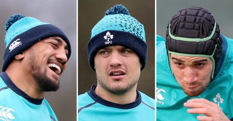 Joe Schmidt names three Connacht players in Ireland squad for Scots clash