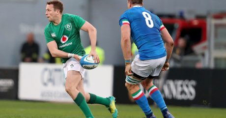 GALLERY: Jack Carty makes Ireland Test debut in Italy win