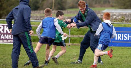 GALLERY: Pro squad hold latest club visit at Corrib RFC
