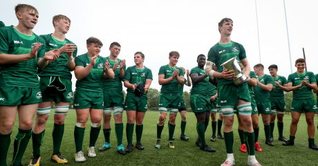 Six Connacht players named in Ireland U18 Schools squad for Six Nations Festival