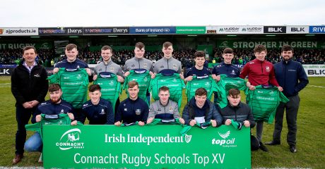 Introducing the Top Oil / Irish Independent Connacht Schools XV Team of the Year