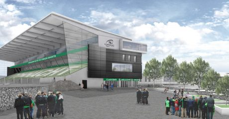 Taoiseach visits Sportsground as redevelopment gets full planning approval