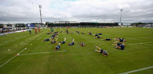BEST PICS: Ireland hold open training session at The Sportsground