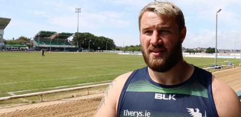 Paddy McAllister on settling in at Connacht Rugby