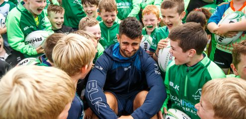 Connacht Player/Club Ambassador Programme Launched for 2019/20