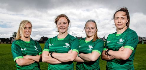 Connacht Rugby unveil their vision for Women's rugby in the West of Ireland
