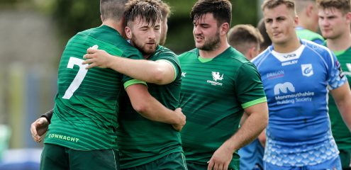 Connacht Eagles team named for interpro derby with Ulster A