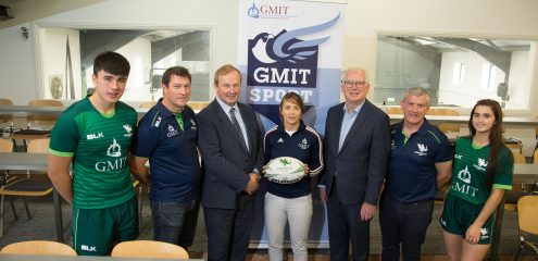 Connacht Rugby and GMIT partnership set to make positive impact throughout the West of Ireland