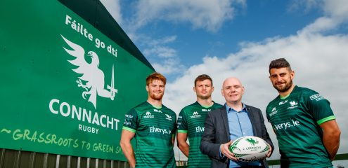 Connacht Rugby announce new partnership with Ireland West Airport