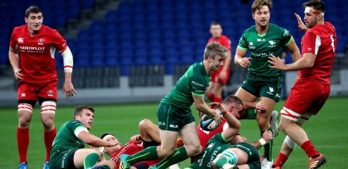Two Fitzgerald tries sets up Connacht win over Russia in Moscow