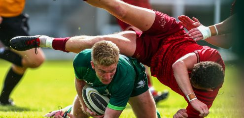 Connacht Eagles team named for Scarlets A clash in Corinthians