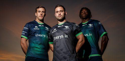 Connacht Rugby & BLK Sport launch 2019/20 Away & European Kits
