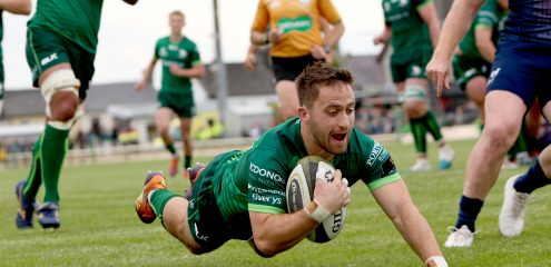Highlights: Connacht 40-31 Munster