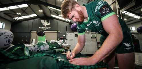 GALLERY: Headshots, walk-ups and more at Connacht Content Day