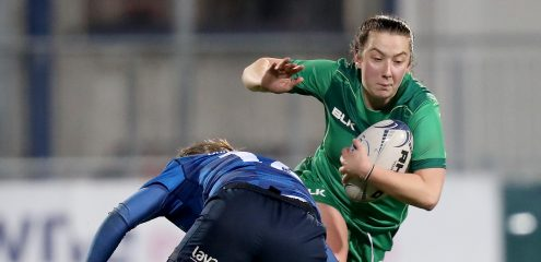 Five Connacht players head to Ireland Women's training camp in Scotland