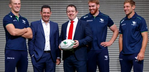 Connacht Rugby and HC Financial extend partnership for a further two seasons