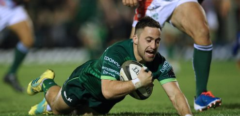 Connacht secure bonus point win over conference rivals Benetton